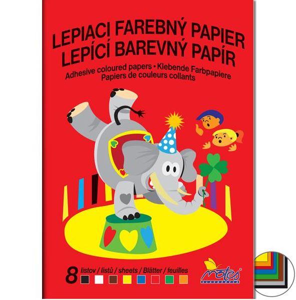 Lepiaci farebný papier