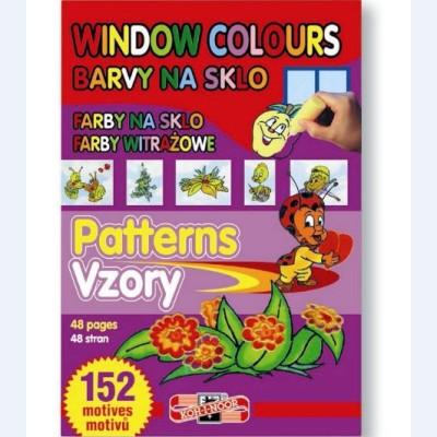 Šablóny pre farby na sklo