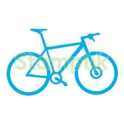 Pečiatka bicykel
