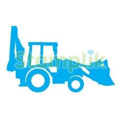 Pečiatka traktorbager