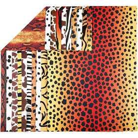 Farebný kartón zvieracie vzory