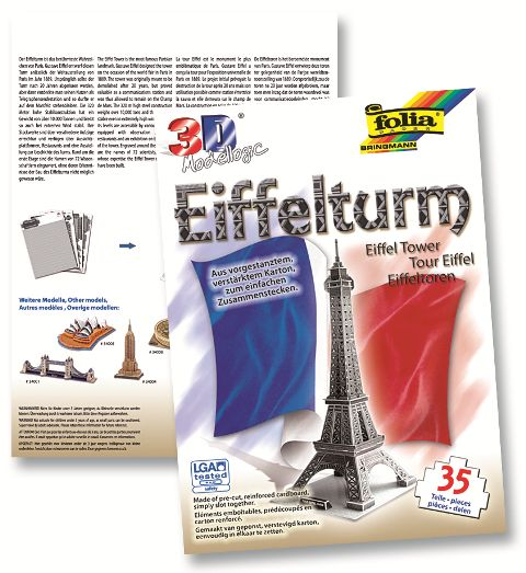 3D model Eiffelova veža