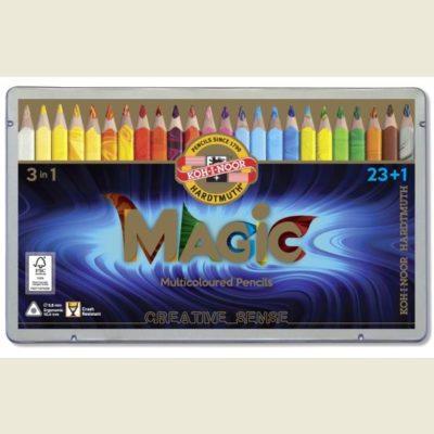 Pastelky Magic v plechovej krabičke