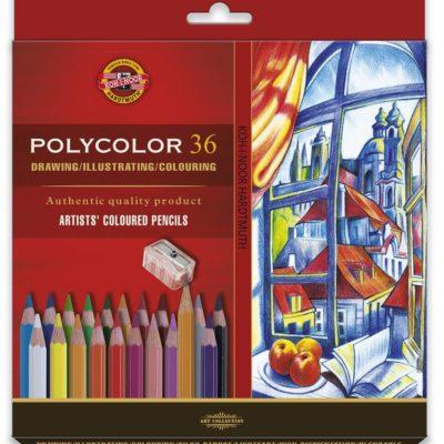 umelecké pastelové ceruzky POLYCOLOR