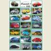 Nálepky legendárne autá VW Chrobák