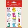 Nálepky detské písmenká A-Z