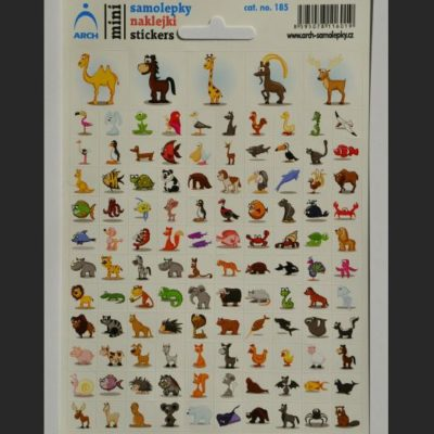 kreslené zvieratká